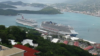 paradise point view of St. Thomas