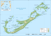 bermuda topographic map
