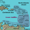 lesser antilles map