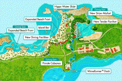 great stirrup cay activities map