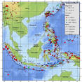indonesia seismicity map