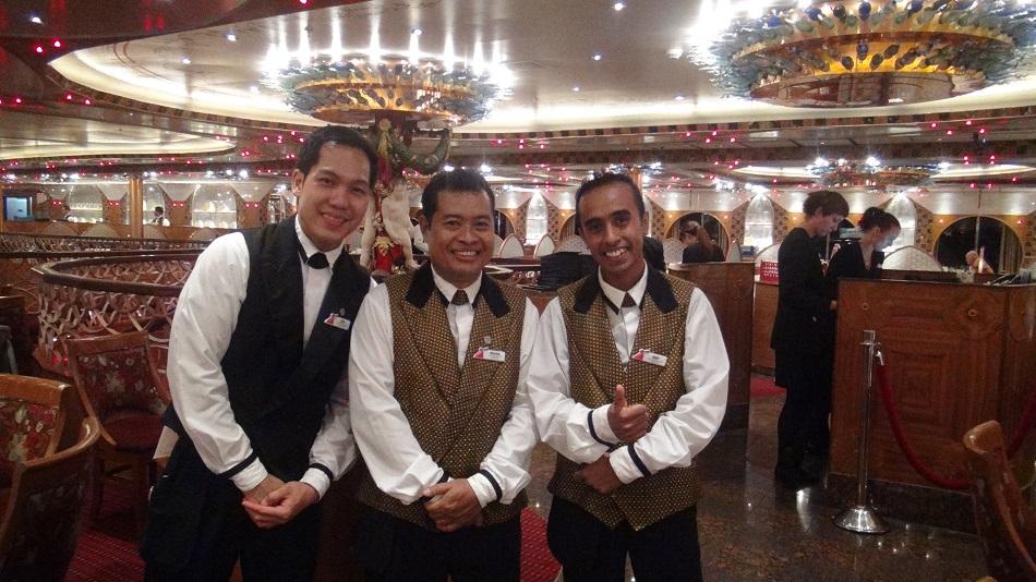Shipdetectivecom Ship Review Carnival Legend - Steward cruise ship